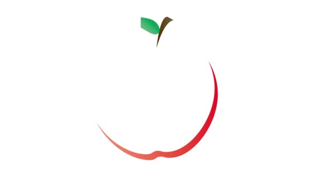 Apple shape Shana Tova Hebrew banner with different Hebrew greetings for the Jewish new year