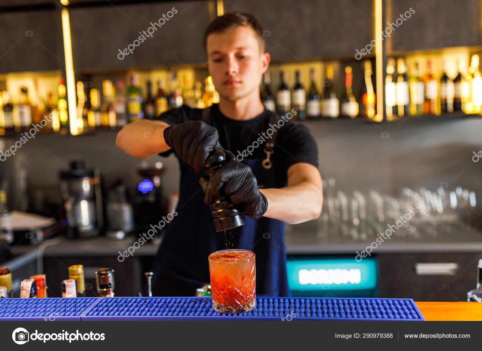 Бармен: сделай коктейль