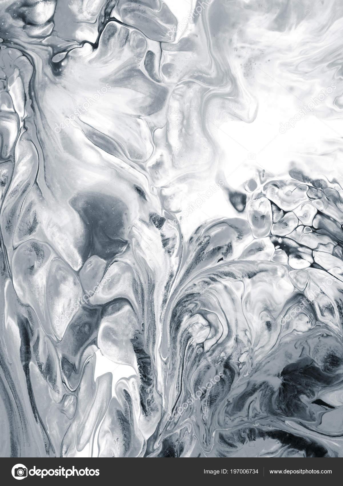 633e8cd19e62c Schwarz Weiß Abstrakte Kreative Hand Hintergrund Mit Pinselstrichen ...
