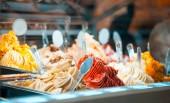 Fotografie Zmrzlina v lednici showcase na cukrářské dílny