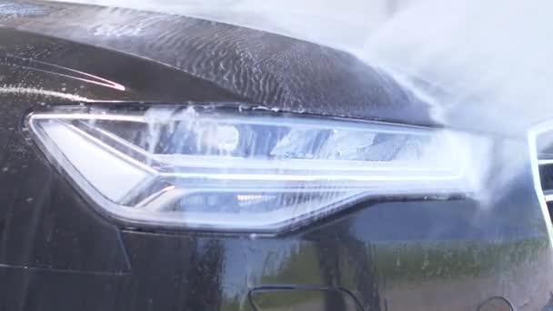 Manuální auto Wash čištění moderní vozidla