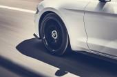 Fotografie Rychlost auta na dálnici