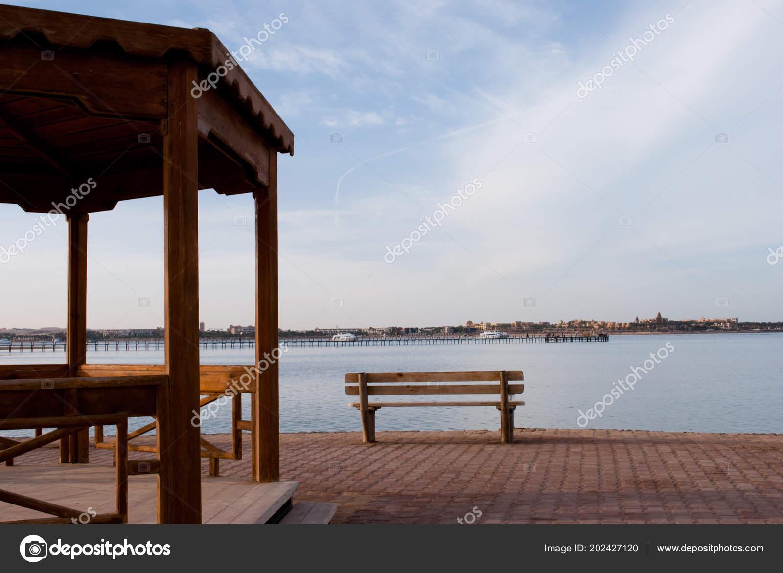 Fine Bench Alcove Break Beach Big Wooden Alcove Empty Bench Empty Forskolin Free Trial Chair Design Images Forskolin Free Trialorg