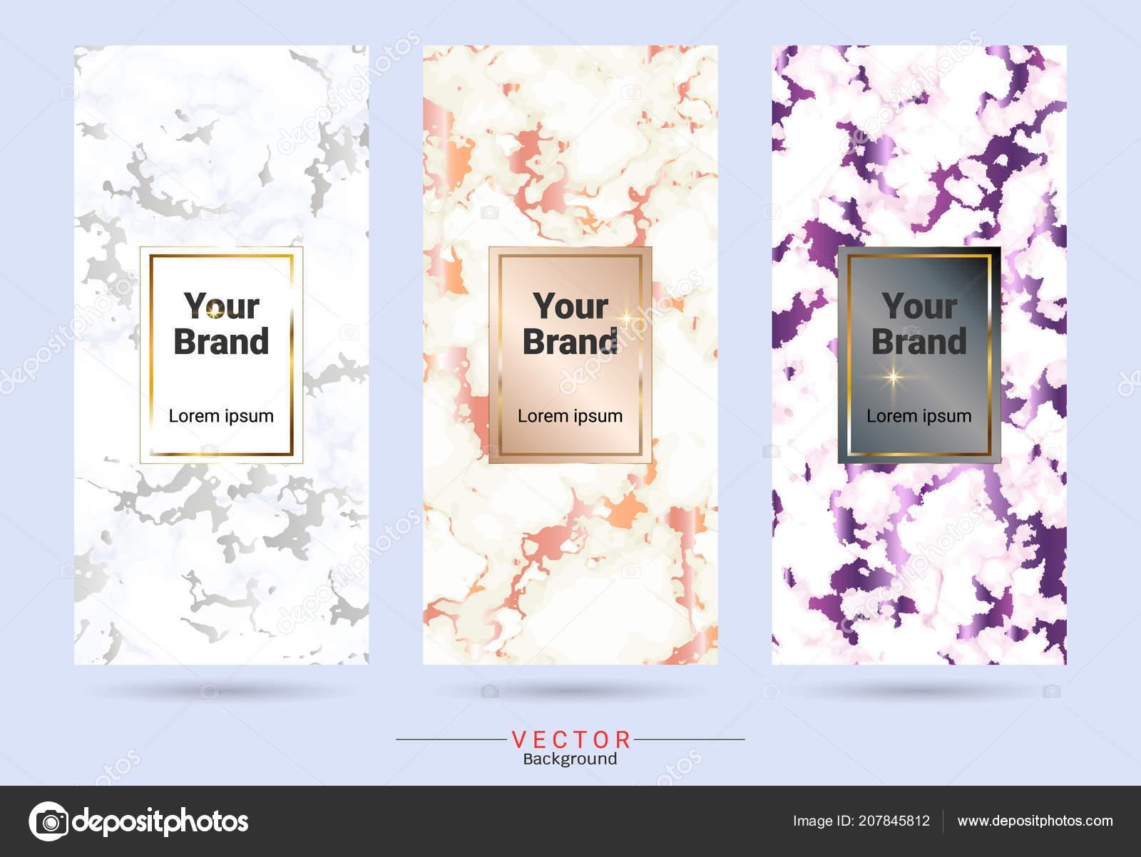 Packaging Premium Box Design Label Stickers Templates Suitable
