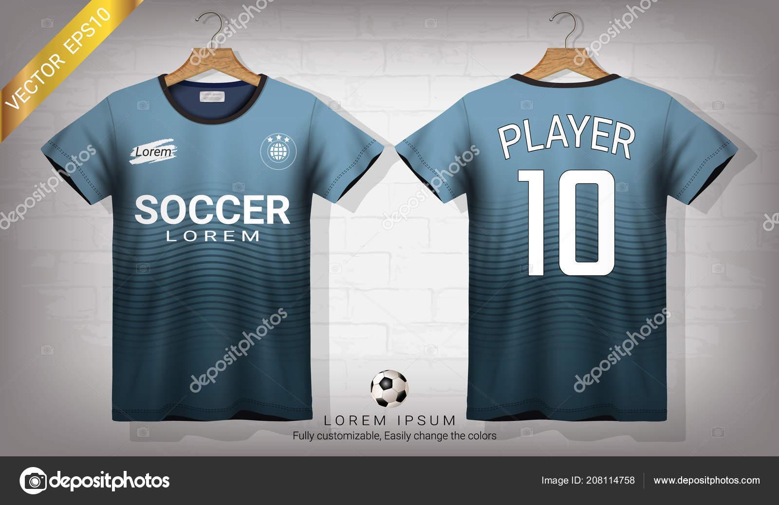 b3cf5baa1dfaf Camisa Futebol Shirt Esporte Modelo Maquete Design Gráfico Para ...