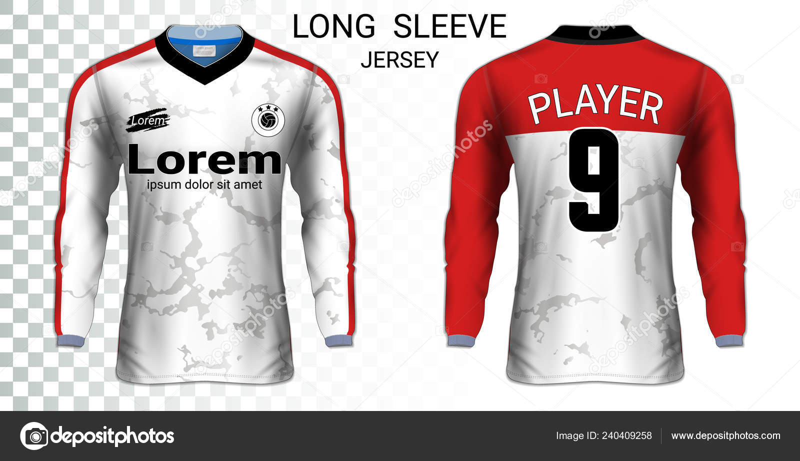 00434660b925 Μακρυμάνικη μπλούζα μπλούζες ποδοσφαίρου, T-Shirt αθλητισμού mockup  πρότυπο, ρεαλιστική γραφιστική για στολή ποδοσφαίρου τερματοφύλακας,  Motocross, ...