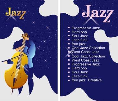 jazz and blues flyer