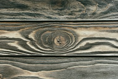 Texture of wooden table grey planks
