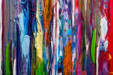 """Картина, постер, плакат, фотообои """"абстрактные картины. ручная картина маслом. цветная текстура. постеры портрет ретр москва"""", артикул 261747670"""