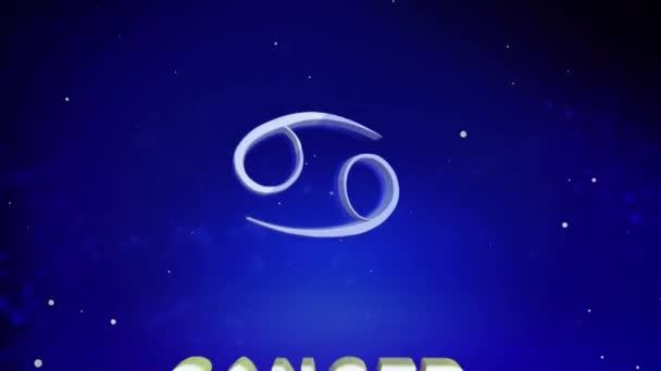 Krebs ist die Animation des Tierkreiszeichens.