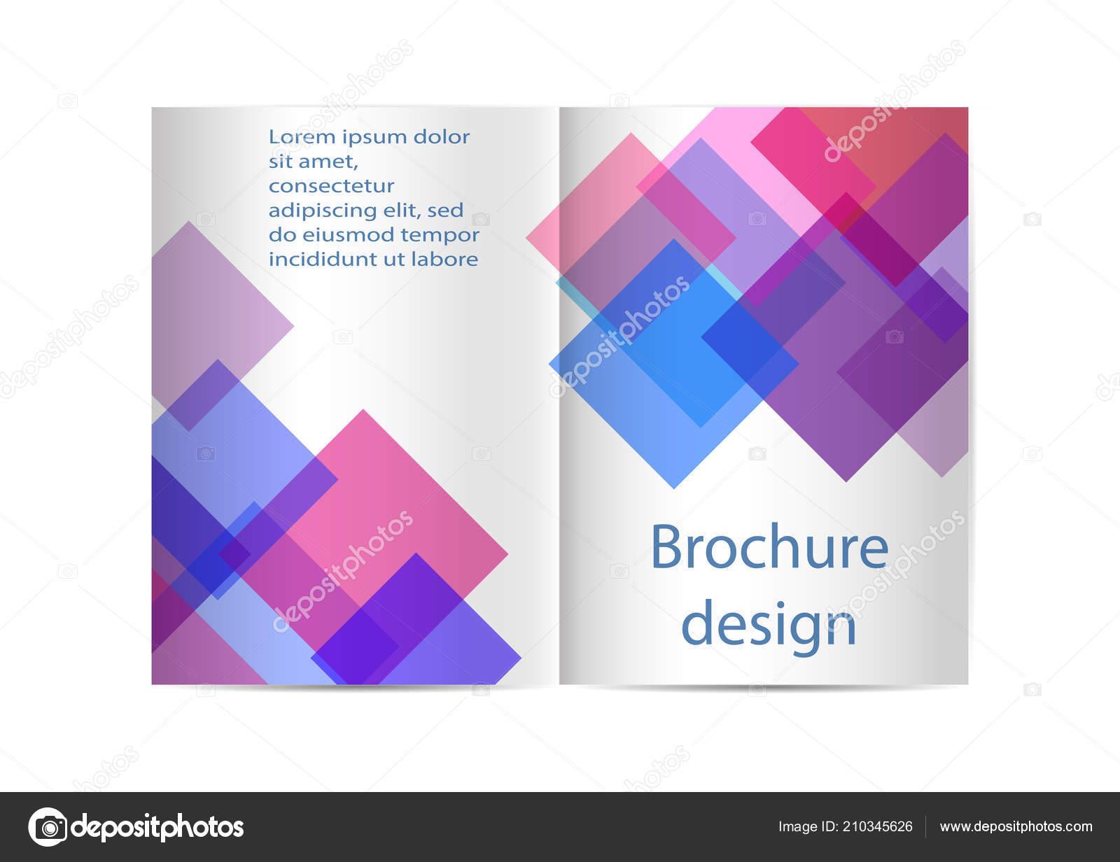 brochure template flyer design depliant cover business presentation