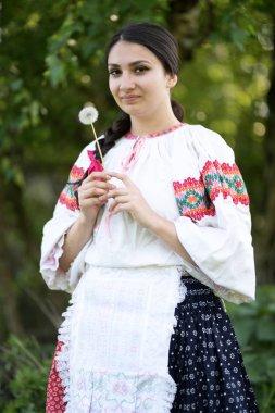Slovakian folklore. Slovakian folklore dancer.