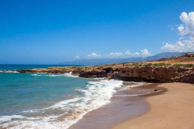 Coast in Crete. Greece