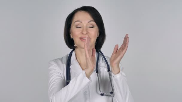 Portrét tleskali paní doktorka, tleskání