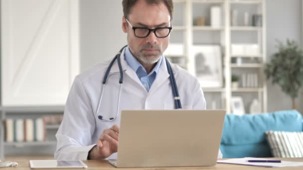 Online Video Chat by Senior Doctor