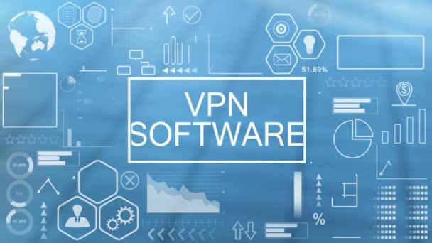 VPN-Software, Animierte Typografie