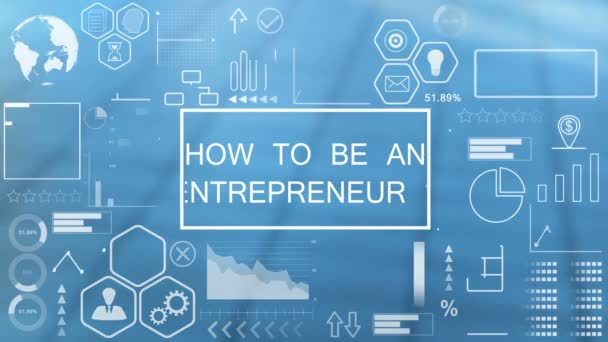 Jak být podnikatelem, animovaná typografie