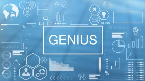 Genius, Animated Typography