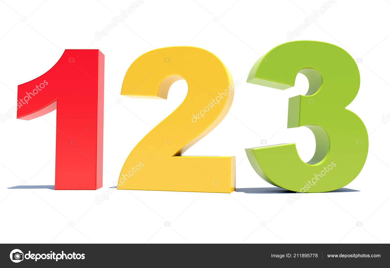 123 Цветные Цифры ...