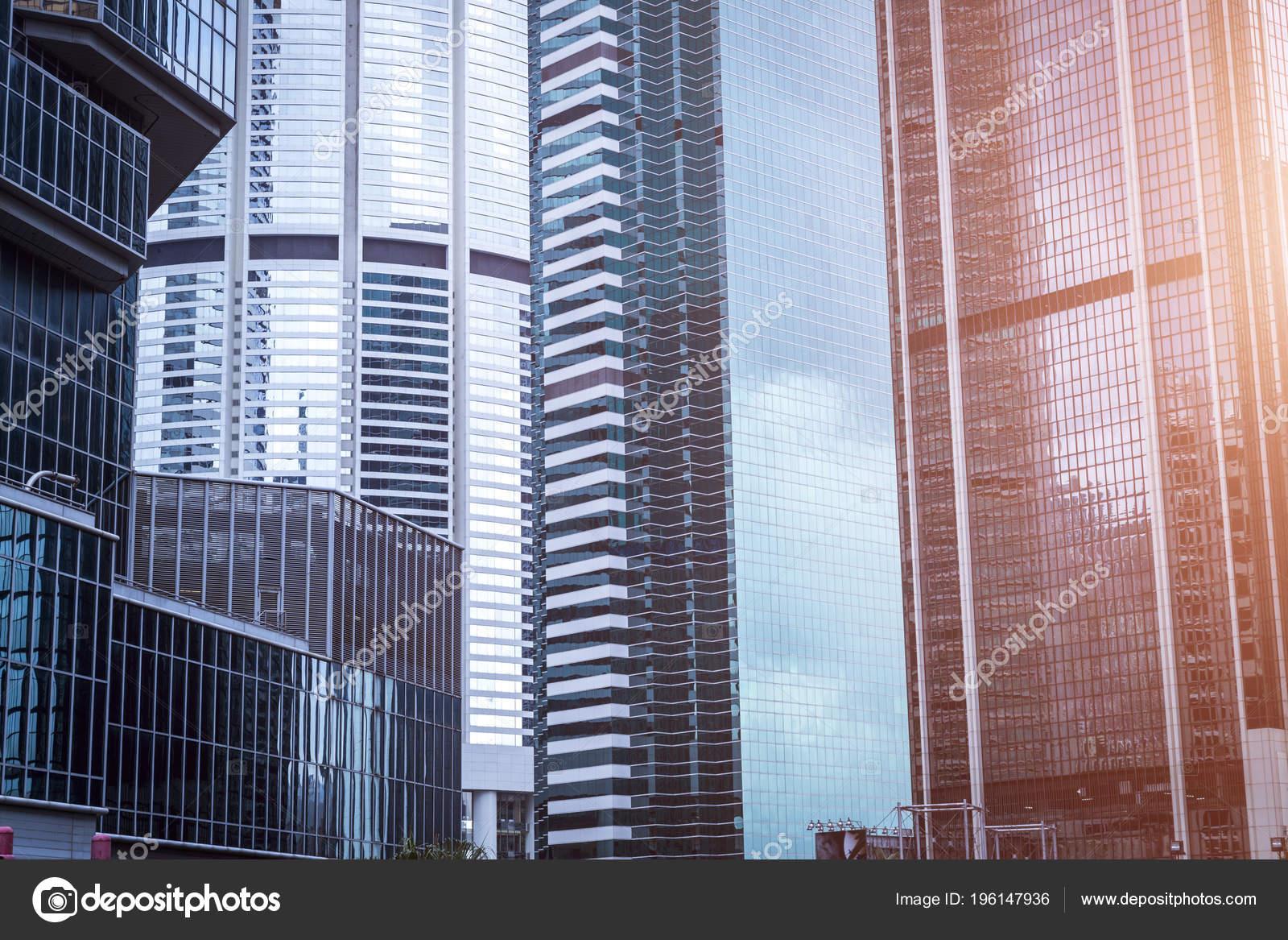 Immeuble bureaux verre bleu u2014 photographie mayichao © #196147936
