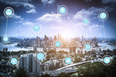 5G network wireless systems and internet of things with modern c