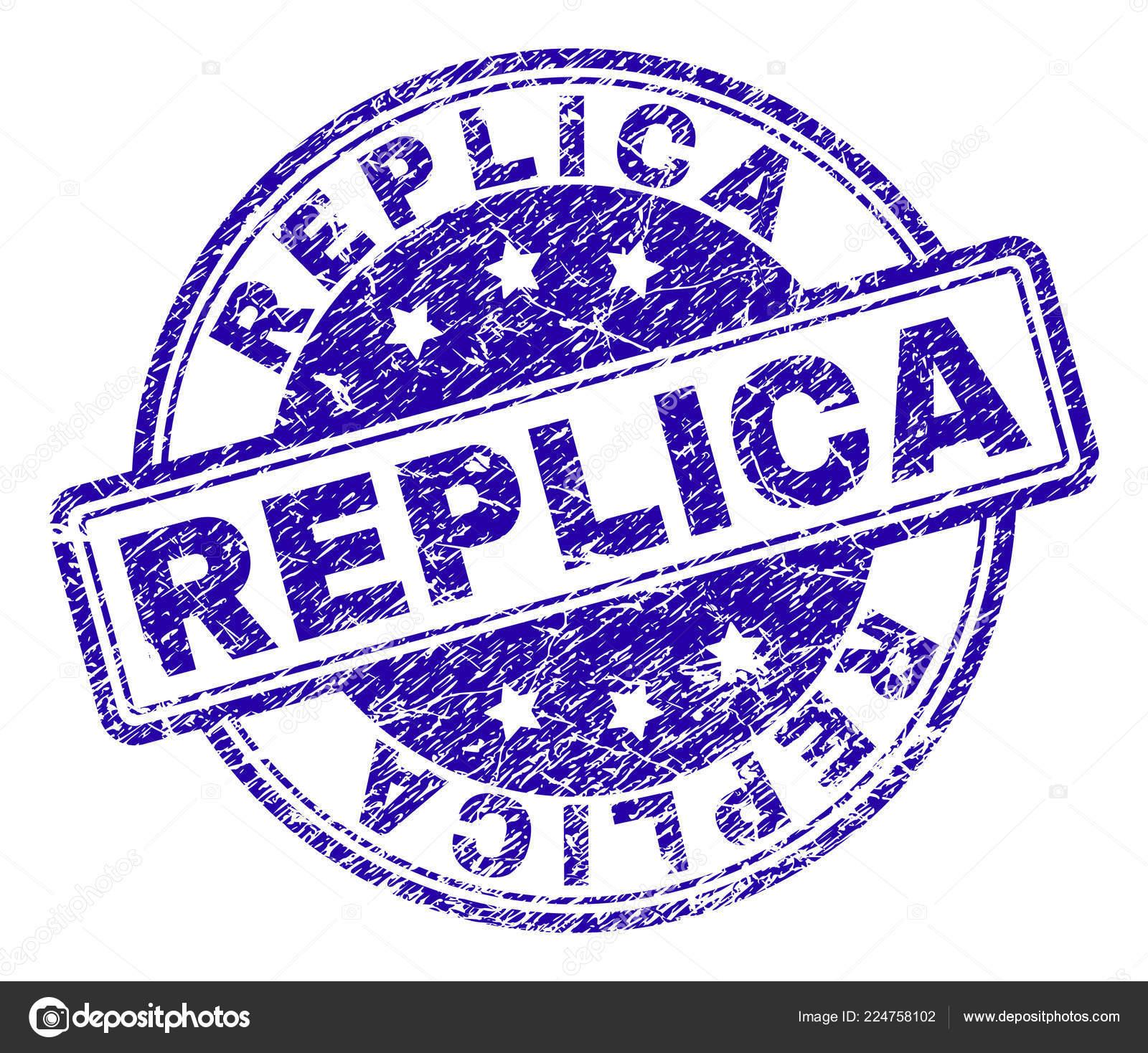 b1b44c1ec1314 Réplica sello sello de marca de agua con textura grunge. Diseñado con  círculos y rectángulos redondeados. Goma azul vector de impresión de la  leyenda de ...