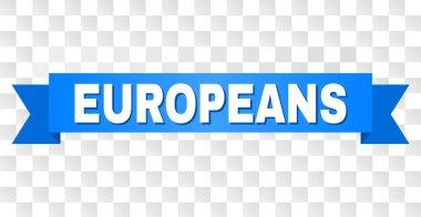 Blue Ribbon with EUROPEANS Caption