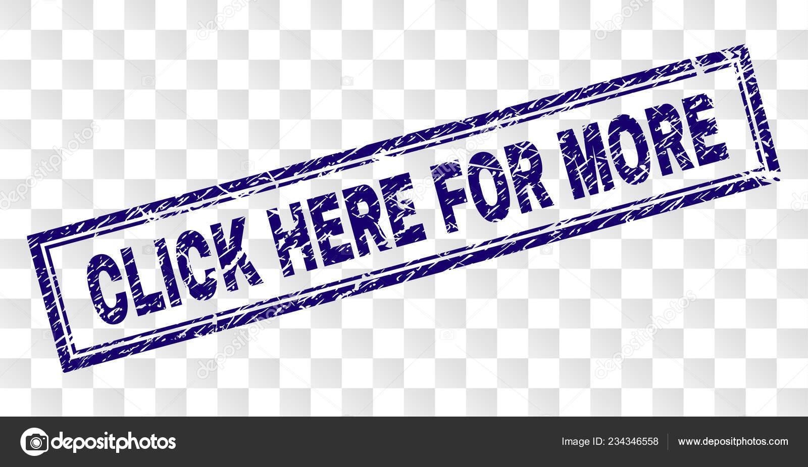 e947064f1 Grunge haga clic aquí para más estampillas de rectángulo — Vector de stock