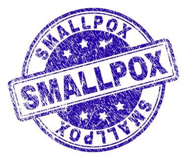 Grunge Textured SMALLPOX Stamp Seal
