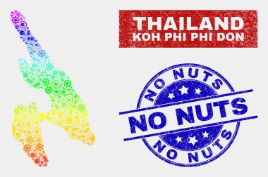 Spectral Production Koh Phi Don Map and Distress No Nuts Watermarks