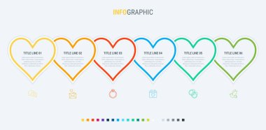 Vector infographics - valentines day, mothers day, wedding, love and romantic events.