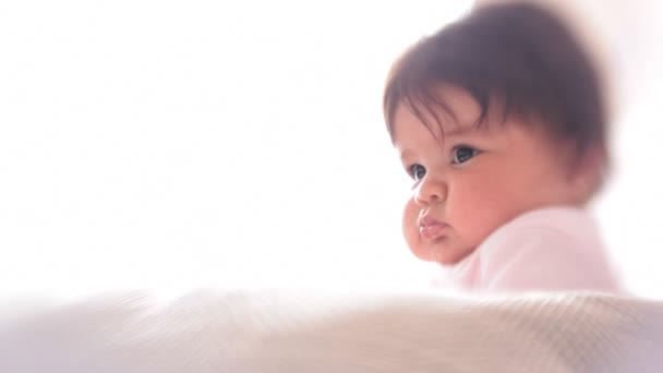 Pěkný dítě a rozostřeného účinek s Lensbaby objektivu
