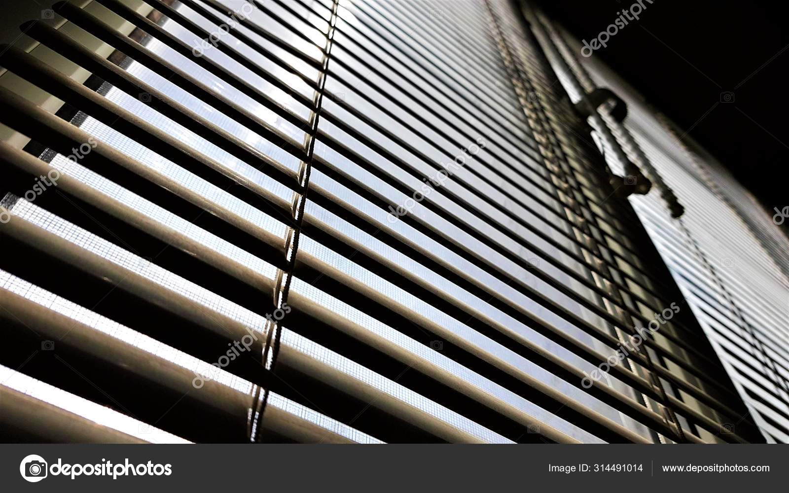 Window With Closed Blinds In Dark Room Jalousie Background Sun Shine Outdoor Stock Photo C Sonymoon 314491014