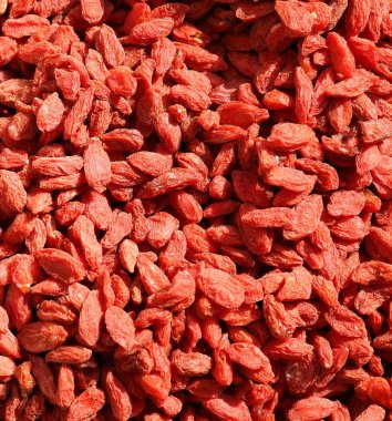 red Dried goji berries  also called wolfberry for sale