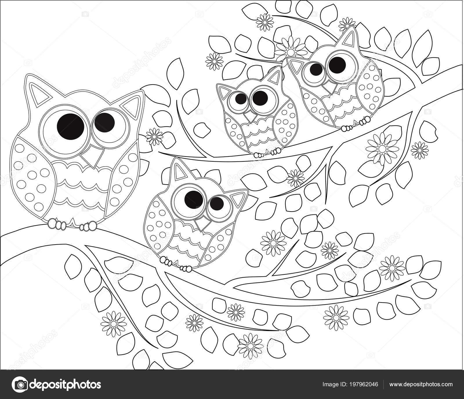 depositphotos stock illustration coloring book adult older children