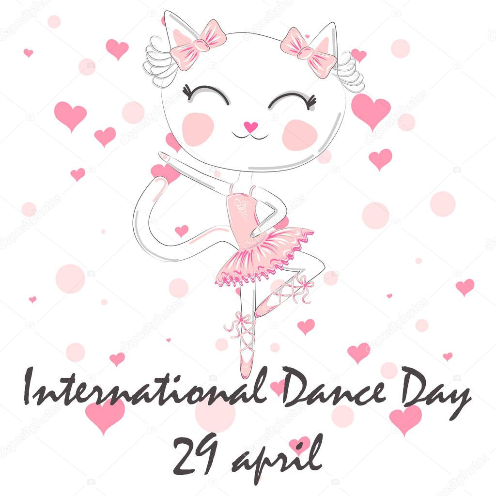 International Dance Day April 29 Design Template Banner Flyer Invitation Brochure Poster Or Greeting Card Premium Vector In Adobe Illustrator Ai Ai Format Encapsulated Postscript Eps Eps Format