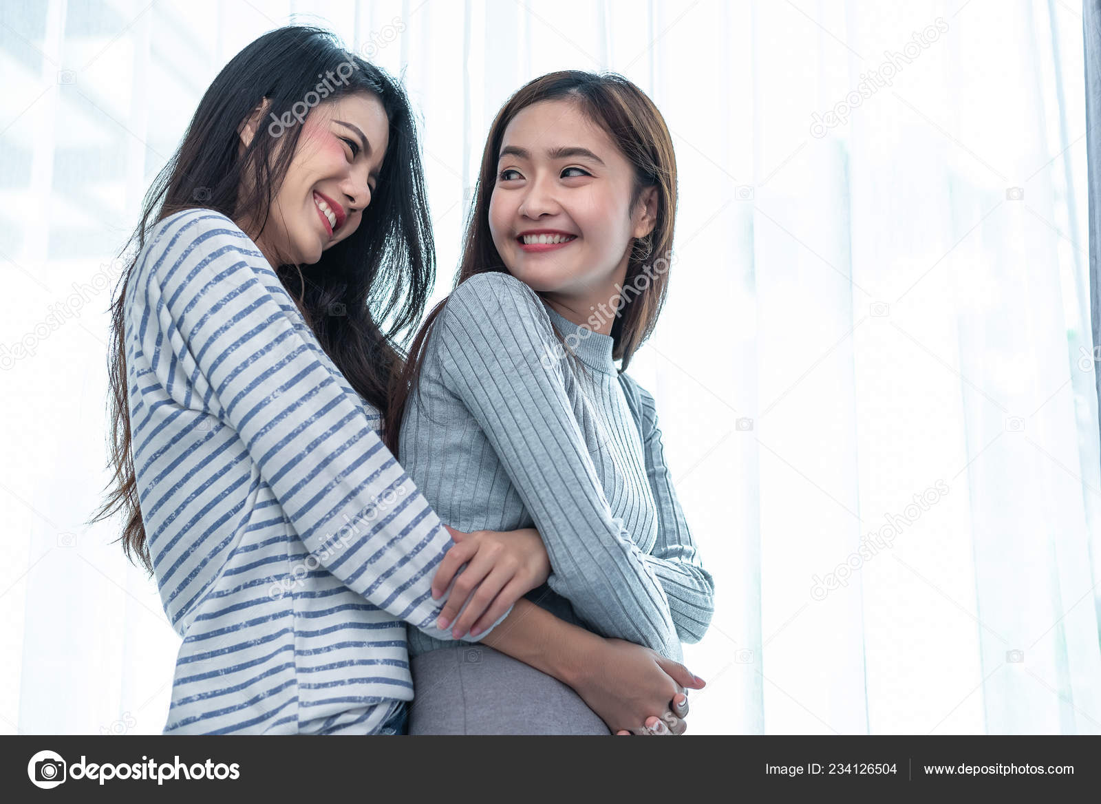 Asian lesbian two