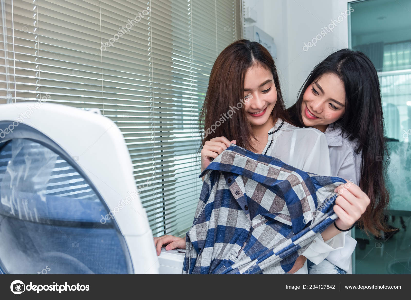 Phrase simply lesbian girls in the laundry room