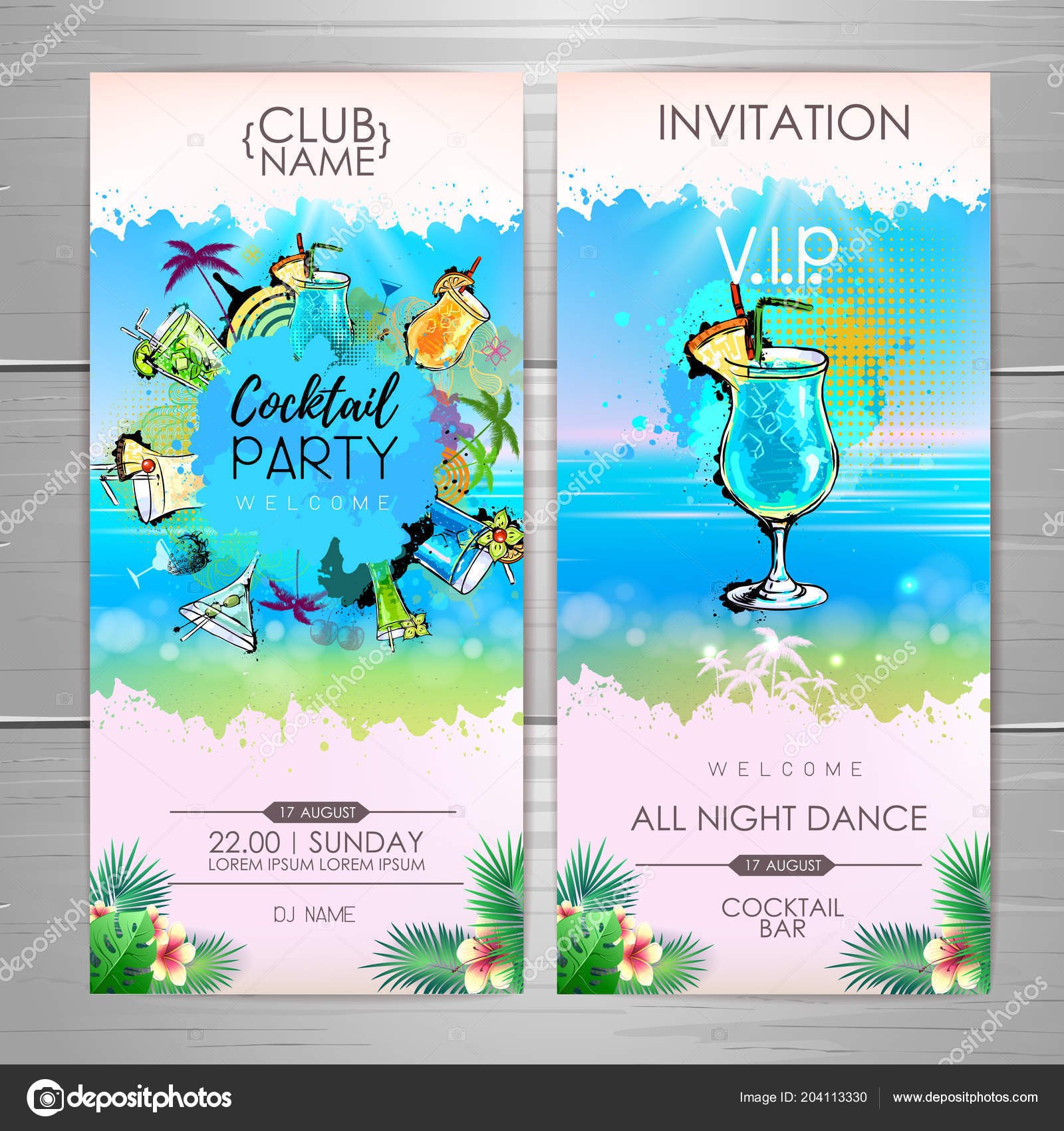 Summer cocktail party poster design cocktail menu invitation design summer cocktail party poster design cocktail menu invitation design vetores de stock stopboris Image collections