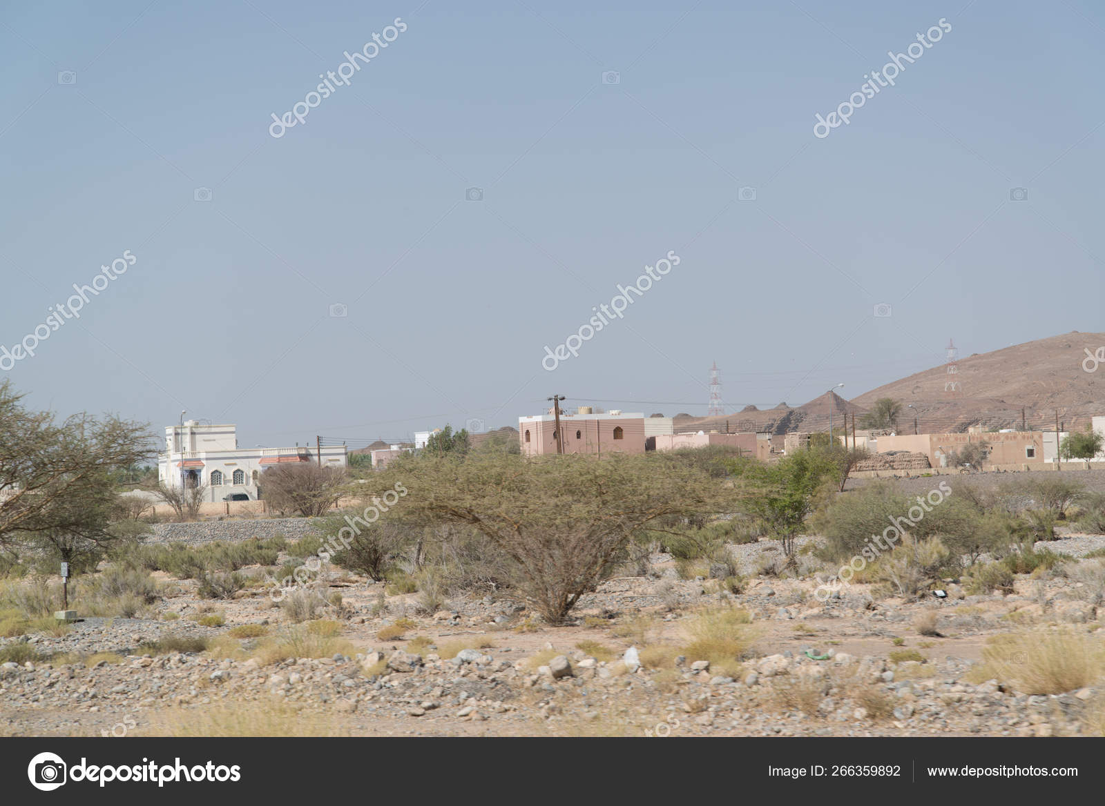 Buildings Situated Desert Country Oman Capital City Muscat