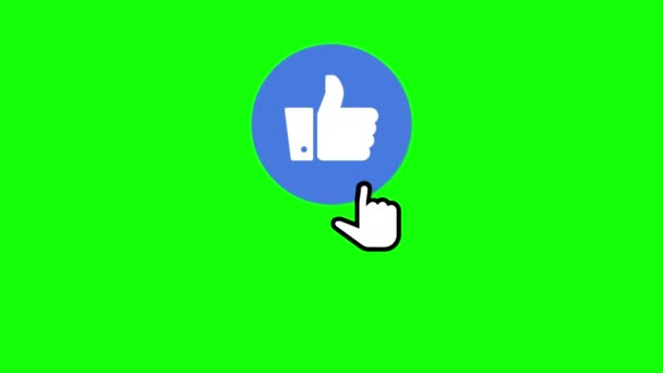 Youtube Channel Subscribe Button, Like Button and Notification Bell Being  Clicked With Chroma Key Green Background