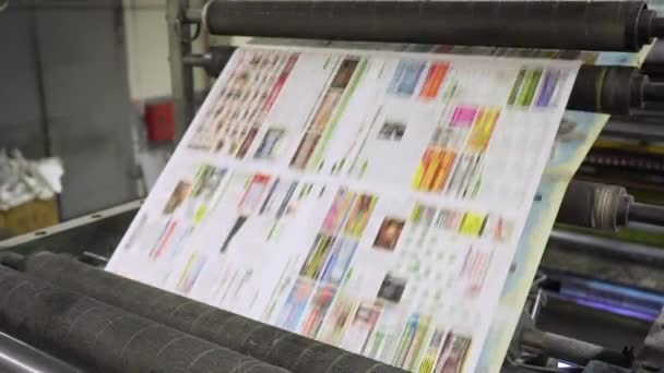 Proces tisku novin v domě tisku