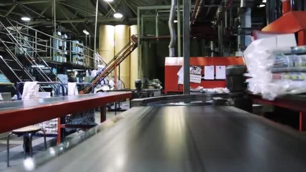 Newspaper printing process in printing house