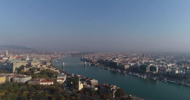 Budapest, Magyarország panorámás kilátás nyílik a városra