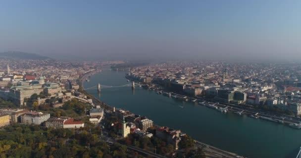 gyönyörű panoráma, Budapest, Magyarország
