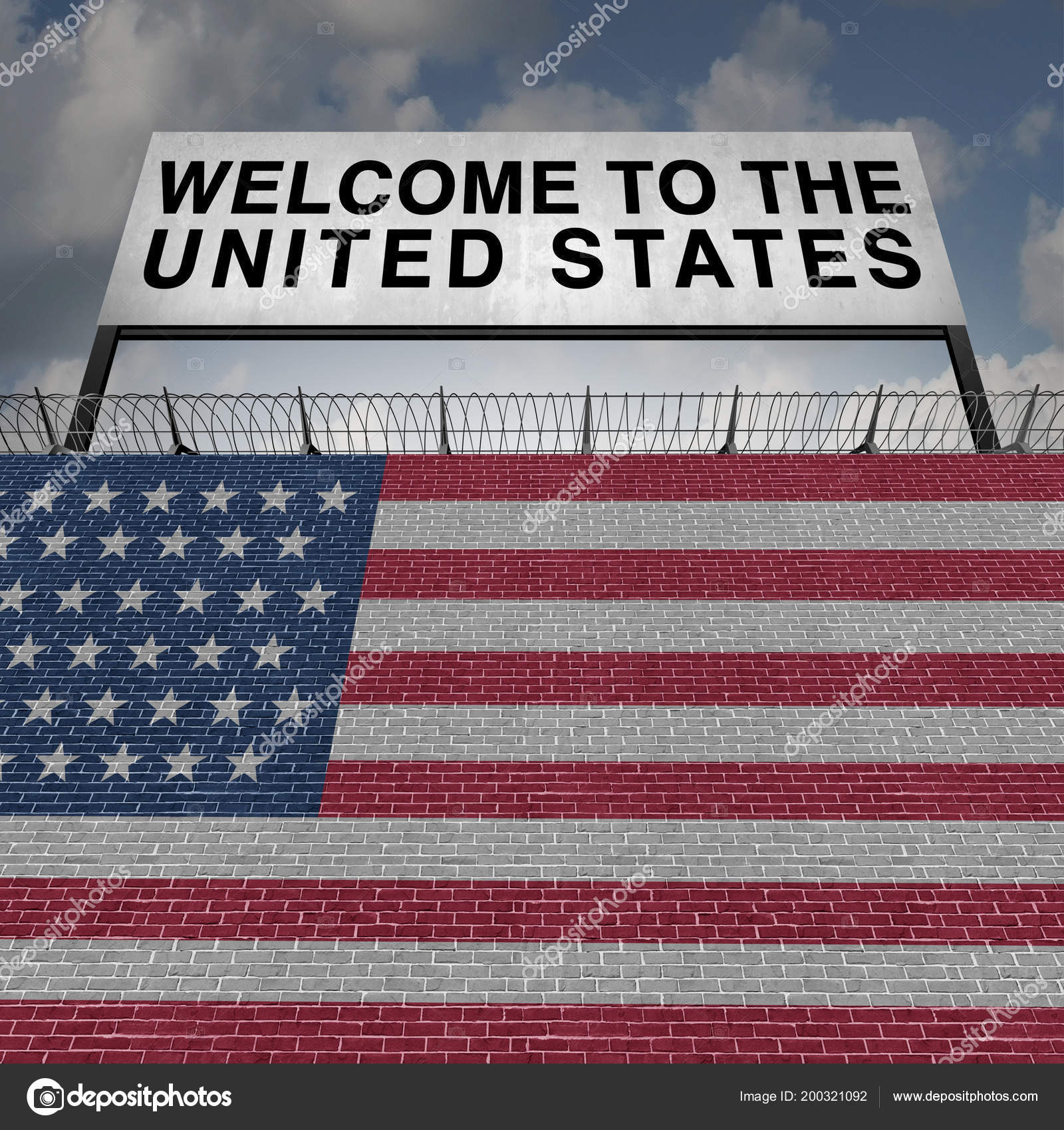United States Immigration Border Wall Security Immigrants