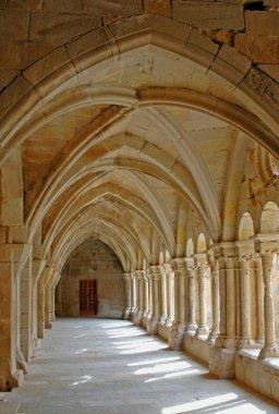 Cister route (XIII-XIVth century). Vallbona de les Monges. Urgell. Lleida province. Catalunya. Spain