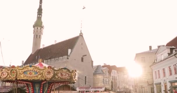 Tallinn Estland 22 December 2017 Traditionele Kerst Vakantie
