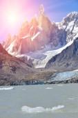 Fotografie Cerro Torre, Los Glaciares National Park, Patagonia, Argentina