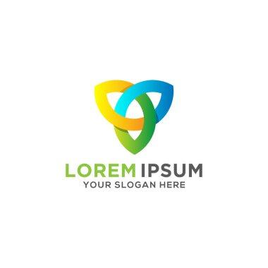 Vector logo design template for business